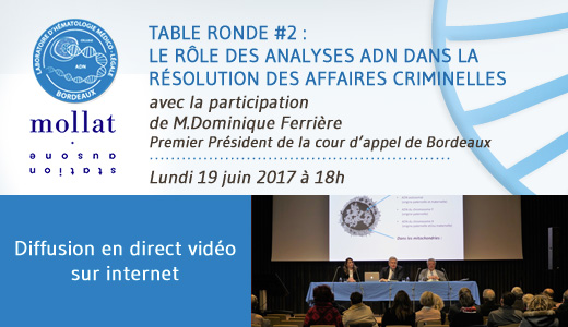 table ronde 2, analyses ADN